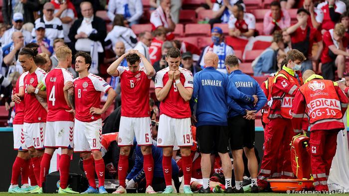 Player welfare has already been raised at Euro 2020 after Christian Eriksen suffered a cardiac arrest.