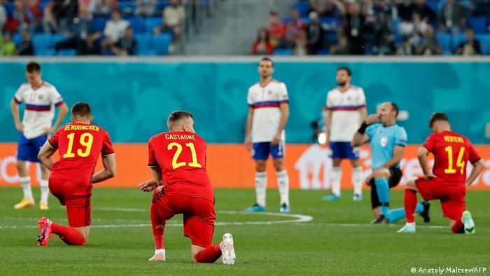 Euro 2020 | Belgien - Russland | Kniefall