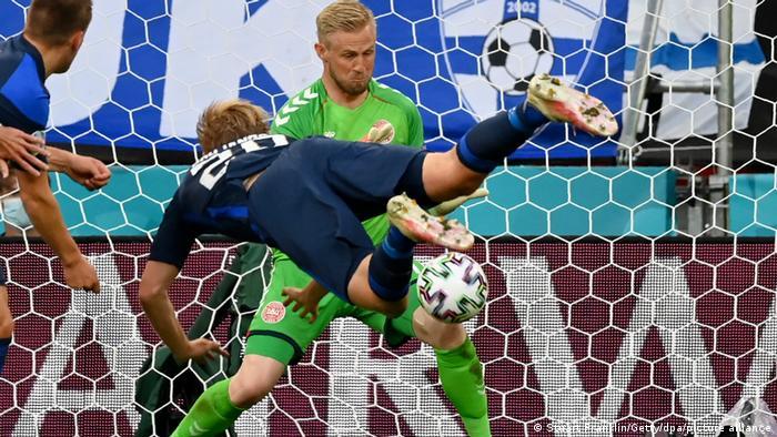 EURO 2020 - Dänemark - Finnland | Tor Joel Pohjanpalo