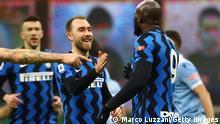 Inter Mailand Romelu Lukaku Christian Eriksen