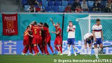 Euro 2020 | Belgien - Russland | Tor Meunier Jubel