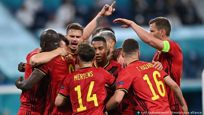 Euro 2020 | Belgien - Russland | Jubel