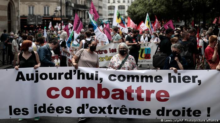 Frankreich Paris | March of Freedoms | Protest gegen Rechts