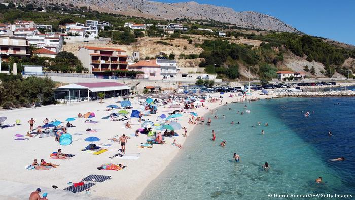 Kroatien Tourismus Adria Strand