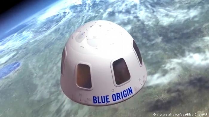 USA Blue Origin Jeff Bezos
