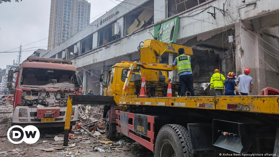 China: Several dead, scores hospitalized after gas explosion