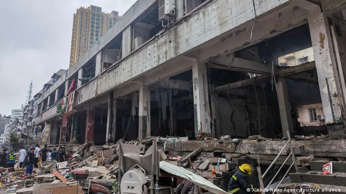 China Shiyan Gas-Explosion