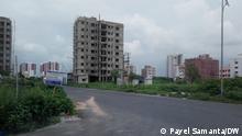 Indien Kalkutta Wohngebiet