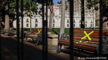 Chile Santiago Coronavirus Lockdown
