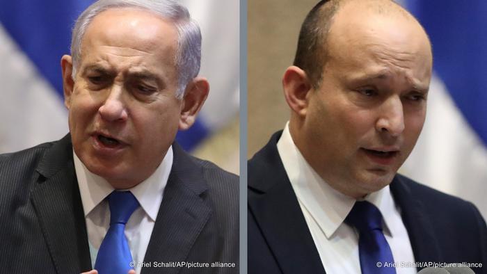 Bildkombo | Benjamin Netanyahu und Naftali Bennett