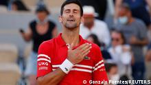 French Open Finale 2021 | Novak Djokovic vs. Stefanos Tsitsipas