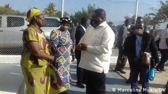 Mosambik   Ossufo Momade - Leiter von RENAMO besucht Zambezia