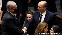 Israel Knesset | Netanjahu und Bennett