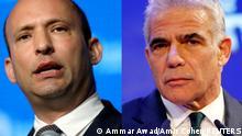 Israel Kombibild Bennet und Lapid