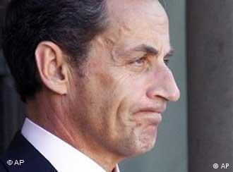 نیکلا سرکوزی، رئیس جمهوری فرانسه