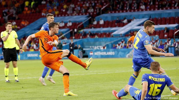 Euro 2020   Niederlande - Ukraine Weghorst Tor