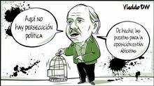 Karikatur von Vladdo, La contrarrevolución de Ortega.
