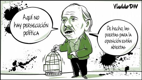 Karikatur von Vladdo | Daniel Ortega