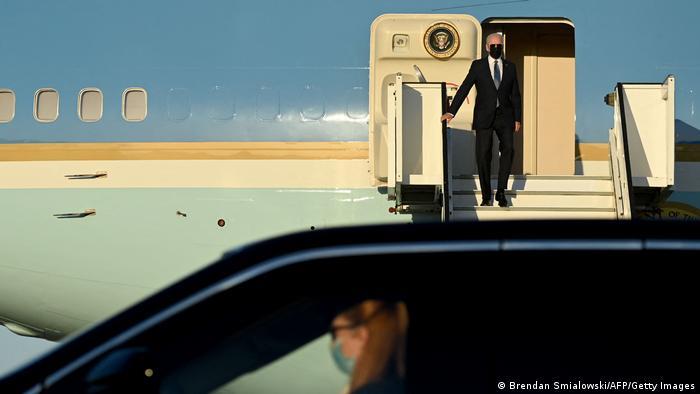 ABD Başkanı Joe Biden, NATO Zirvesi'ne katılmak üzere Brüksel'e geldi