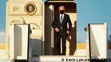 Belgien | Ankunft US Präsident Biden vor NATO Gipfel