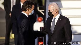 Belgien | Ankunft US Präsident Biden vor NATO Gipfel | Empfang durch Premierminister Alexander De Croo