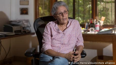 Dora María Téllez es una historiadora y política nicargüense