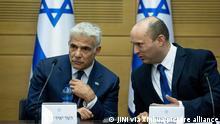 Israel | Jair Lapid und Naftali Bennett