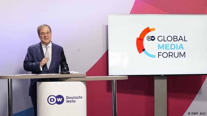 Impulse Armin Laschet |DW Global Media Forum 2021