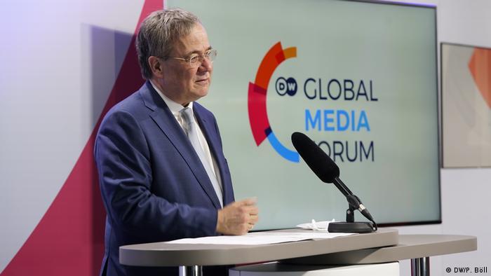Armin Lašet (CDU) na Global Meda Forumu 2021