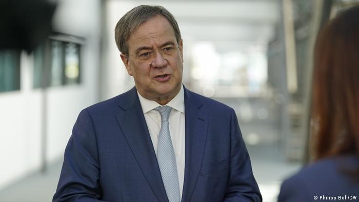 Armin Laschet - kandydat chadecji na kanclerza Niemiec
