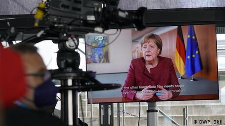 Message from German Chancellor Angela Merkel | DW Global Media Forum 2021