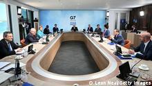 Cornwall G7 Treffen mit Gastpolitikern