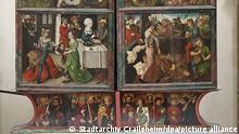Deutschland Crailshaim | Mögliches Dürer-Gemälde auf Altar