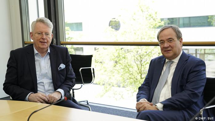 Direktor DW Limburg (desno) i kandidat za kancelara CDU Lašet