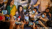 The photos in the attached mail are sent to us by our content partner bdnews24.com Description: Next Film actress Shamsunnahar Smriti, popularly known as Pori Moni, has filed a case against a businessman, accusing him of trying to rape and murder her. Pic 1 : Pori Moni in press conference