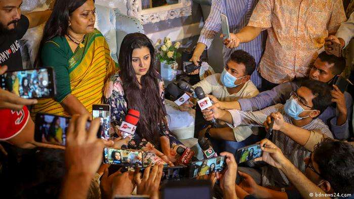 Indien PK Schauspielerin Shamsunnahar Smriti