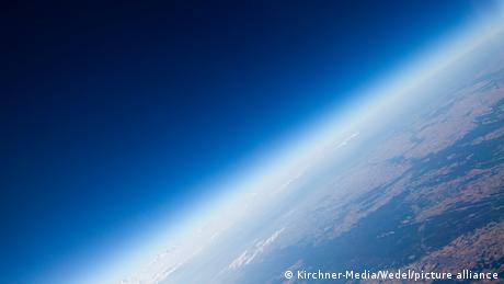 A view of the Earth's stratosphere