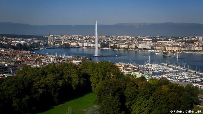Панорама Женеви