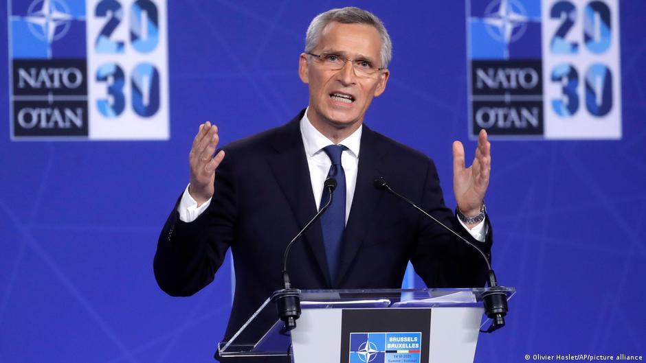 [新聞] NATO峰會點名中俄 德法私下緩頰