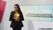 DW Freedom of Speech Award Laureate 2021: Nigerian investigative journalist Tobore Ovuorie