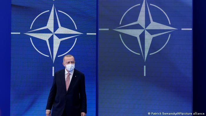 Brüssel NATO Gipfeltreffen l Präsident Erdogan