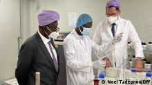 Togo Gerd Müller Entwicklungsminister zu Besuch