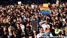 Ungarn l LGBT Demonstration in Budapest