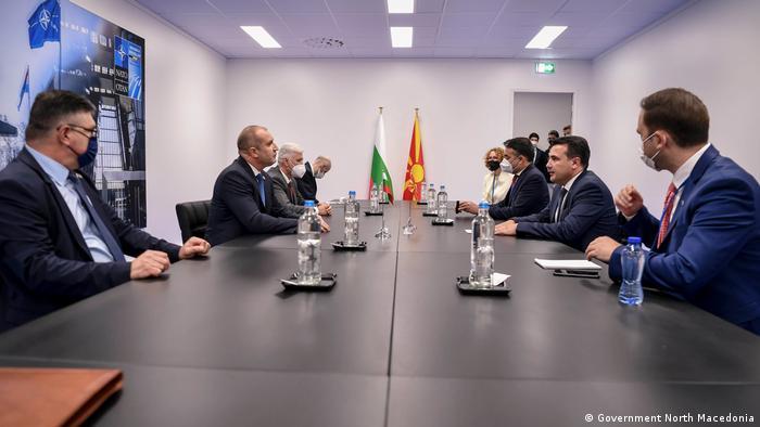 Belgien   Bilaterales Treffen Zoran Zaev und Rumen Radev