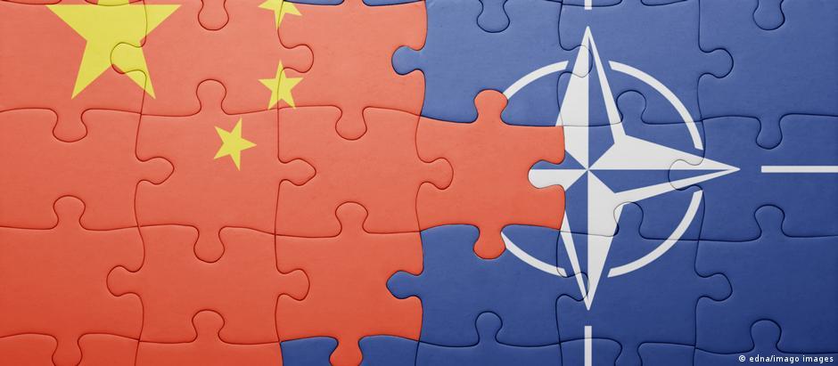 Symbolbild Beziehungen China - NATO