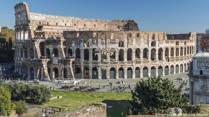 Rome amphitheater.