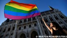 TABLEAU | Ungarn Budapest LGBTQ Protest