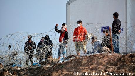 Griechenland Flüchtlingslager Samos