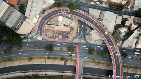 A new pathway for cyclists in Belo Horizonte