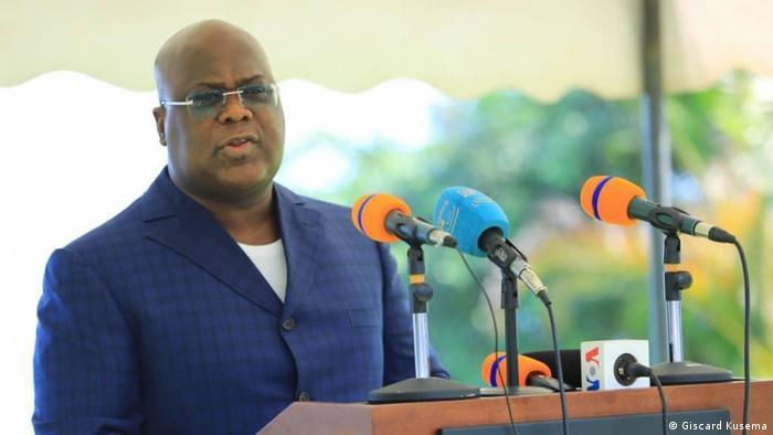 DR Kongo Goma | Besuch Präsident Felix Tshisekedi